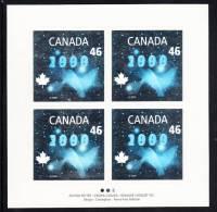 Canada MNH Scott #1812 Sheet Of 4 46c Dove Hologram - Millenium - Full Sheets & Multiples