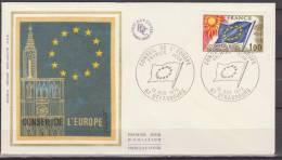 France, 1976, Europe, Conseil De L'Europe, FDC - Idee Europee