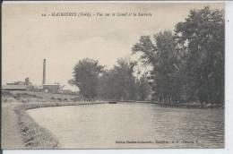 MASNIERES - Vue Sur Le Canal Et La Sucrerie - France