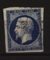 France Cérès  N°  14 Aa   Oblitéré  Cote : 8,00€   Au Quart De Cote - 1853-1860 Napoleon III