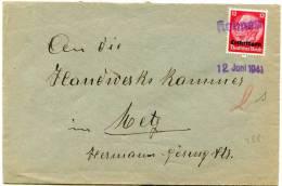 58350 - 1 TP Cachet KOLMEN 12 Juni 1941 TTB - Marcophilie (Lettres)