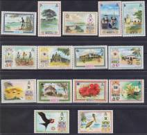 ANGUILLA SERIE COURANTE    Yvert N°114/28 **MNH.  Réf 1602 - Anguilla (1968-...)