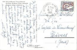 HAUTES ALPES-LA CHAPELLE EN VALGAUDEMAR DU 15-1-1965. - Postmark Collection (Covers)
