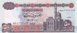 EGYPT 50 POUNDS EGP 1998 P-60 SIG/ISMAEL #19 UNC */* - Egypt