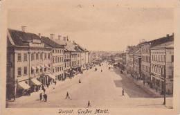 Estonia Dorpat Grosser Markt