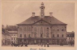 Estonia Dorpat Rathaus