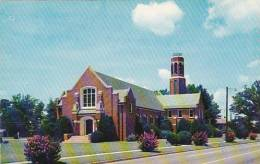 South Carolina Greenwood Callie Self Memorial Church And Carillon - Greenwood