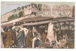 Lettre - MAROC - TANGER - Càd S>/Bande De 3 Du TP N°20 - 1912 - Maroc (1891-1956)