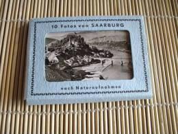 @ PETIT CARNET SAARBURG 10 PHOTOS FORMAT 9 CM Sur 7CM @ NOMBREUSES PHOTOS - Saarburg