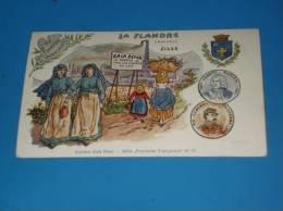 CPA Regionalisme LA FLANDRE Capitale LILLE Edition Gala Peter Serie Provinces - Lille