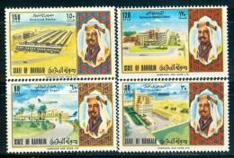 Bahrain #196-9 Aluminum Smelter, Airport, Etc. Set Of 4 #196-9 - Bahrain (1965-...)