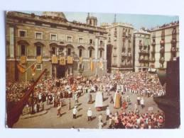 BARCELONA - Festival Folklorico En La Plaza De San Jaime - Barcelona