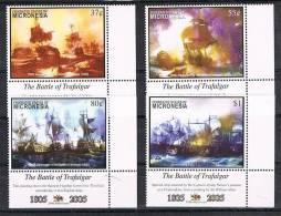 2005 - MICRONESIA - BICENTENARIO DELLA BATTAGLIA DI TRAFALGAR. MNH - Micronesia