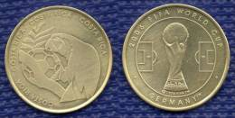 Medal COSTA RICA Football Soccer FIFA  World Cup 2006 Germany. # 1608. - Habillement, Souvenirs & Autres