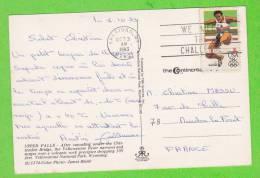 Sur CP - ETATS UNIS - 1 Timbre - Covers & Documents
