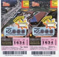Lote 714, Colombia, Loteria, Lottery, Portal De Transmilenio - Billetes De Lotería