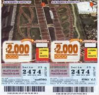 Lote 716, Colombia, Loteria, Lottery, Parque El Renacimiento - Billetes De Lotería