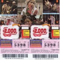 Lote 717, Colombia, Loteria, Lottery, Festival Iberoamericano De Teatro - Billetes De Lotería
