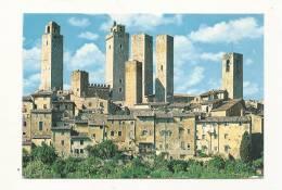 Cp, Italie, Citté Di S. Gimignano, Panorama, Voyagée - Altre Città