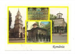 Cp, Roumanie, Bucarest, Multi-Vues, Voyagée - Rumänien