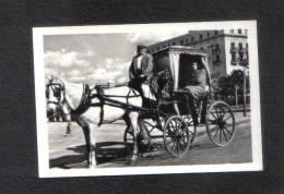 MALTA - MALTESE CAB  REAL PHOTOGRAPH. 1950s - Places