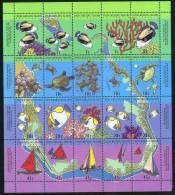1994  Map Sheet  MNH ** - Cocos (Keeling) Islands