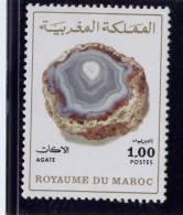 MOROCCO. 1974-5, # 314a, AGATE,  MINT  N HINGED - Maroc (1956-...)
