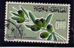 MOROCCO. 1966,  USED # 137, OLIVES - Maroc (1956-...)