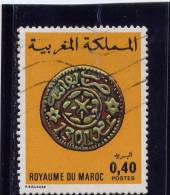 MOROCCO. 1976, USED # 360. MAROCCANS COINS - Maroc (1956-...)