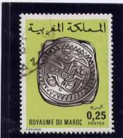 MOROCCO. 1977-81, USED # 403a  MAROCCANS COINS - Maroc (1956-...)
