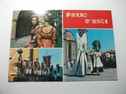 Palio D´asti Figuranti Donne In  Costume Ed. Marchia Asti Piemonte Italy - Costumi
