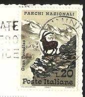 RIMINI Francobollo Parchi Nazionali 1967 - Rimini