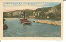 MARCHE-LES-DAMES   LA MEUSE ET LES ROCHERS   BATEAU - Namur