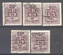 _Gm926: Restje Dubbels...5x N° 941 ...met Bijkomde Stempel ...... Om Verder Uit Te Zoeken - Unclassified