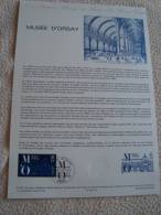 FRANCE-  Le Musée D' ORSAY  - Bon état - Documents De La Poste