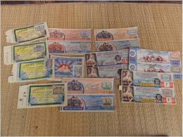 Billet Loterie Nationale  1939 1944 Empire Militaria - Billets De Loterie