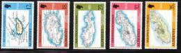 Alderney 1989 18th-20th Century Maps MNH - Alderney
