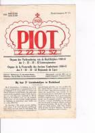 PIOT 1948 Orgaan Der Verbroedering Van De Oudstrijders 1940-45 Der 1 22 32 52 Linieregimenten - Anciens Combattants - Revues & Journaux