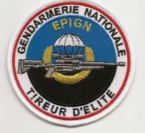 Ecusson Tissu TIREUR D´ELITE Gendarmerie Nationale - Police & Gendarmerie