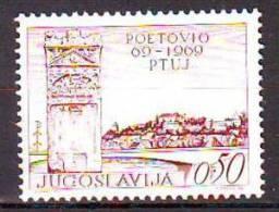 Yugoslavia 1969 Y 1900th Ann Of Ptuj City Mi No 1328 MNH - Unclassified