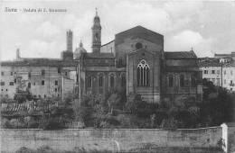SIENA : Veduta Di S. Francesco. 2 Scans. Edition Venturini - Siena