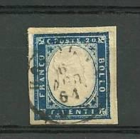1861 20 C. - Sardegna