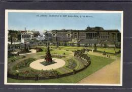 30834   Regno  Unito,  Liverpool,  St.  Johns  Gardens  &  Art  Gallery,  NV - Liverpool