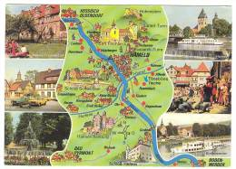 Y209 Hameln - Frohe Fahrt Im Weserbergland / Non Viaggiata - Hameln (Pyrmont)
