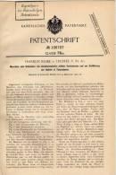 Original Patentschrift - F. Blake In Trustee , USA , 1901 , Maschine Für Streichhölzer , Zündhölzer , Streichholz !!! - Pyrogènes