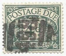 Gran Bretagna - 1914-1922  POSTAGE DUE STAMPS - SG D6 - Tasse