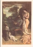 Gustave COURBET - L'Atelier Du Peintre (détail) - Les Cartes Postales De La LOTERIE NATIONALE - Pintura & Cuadros