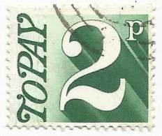 Gran Bretagna - 1970-1975  POSTAGE DUE STAMPS - SG D79 - Tasse