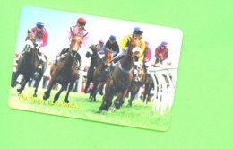 JERSEY - Magnetic Phonecard As Scan/Horse Racing - Ver. Königreich