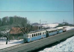 Chemin De Fer, Trains Du Canton Appenzell Et St Gall Notkersegg Photo 1970 BVA 123.3 TB - AI Appenzell Rhodes-Intérieures